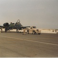 A-10 820664 being towed in
